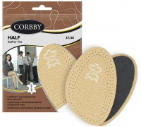 Corbby полустельки из натуральной кожи HALF