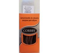 Corbby шнурки круглые, толстые 200 см