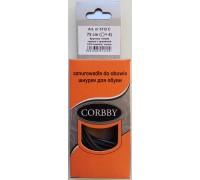 Шнурки тонкие круглые 75 см Corbby