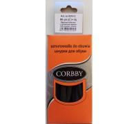 Corbby шнурки круглые, толстые 90 см