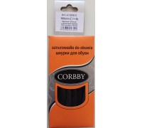 Corbby шнурки круглые, толстые 100 см