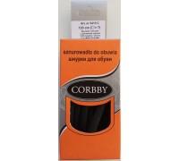 Corbby шнурки круглые, толстые 120 см