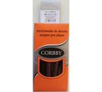 Шнурки толстые круглые 180 см Corbby