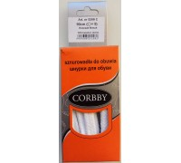Шнурки плоские 90 см Corbby