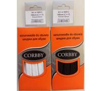 Шнурки плоские 120 см Corbby