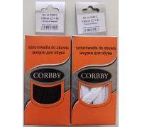Corbby шнурки плоские 150 см