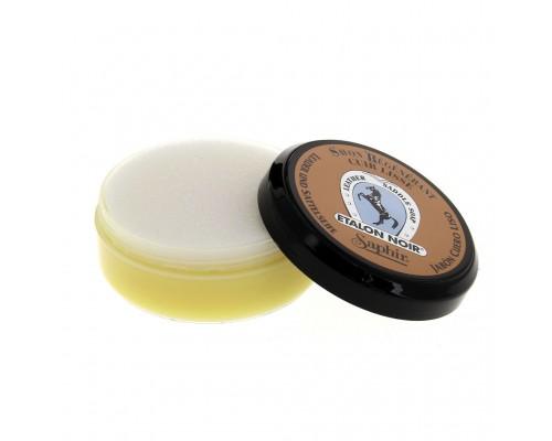 Saphir очищающее крем-мыло Etalon Noir Saddle Soap, 100 мл