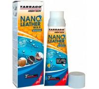 Tarrago крем тюбик с губкой NANO Leather WAX